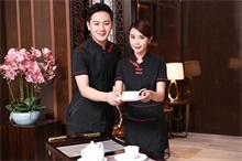 深圳宾馆女服务员制服定做